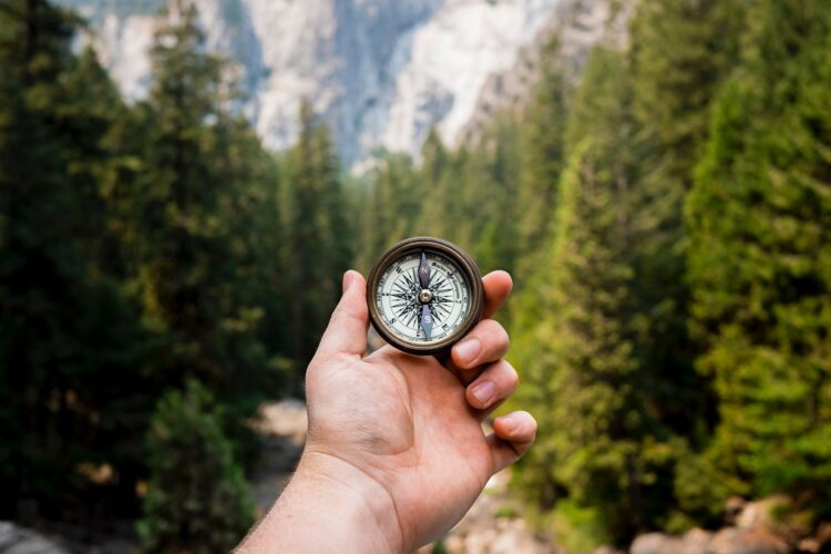 Compass representing the importance of purpose in guiding your meetings
