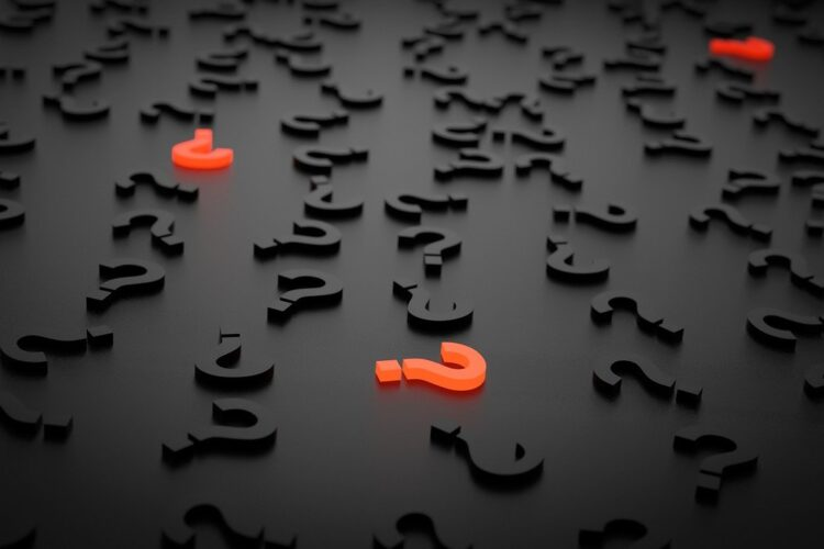 Question marks highlighting the importance of knowing and communicating purpose